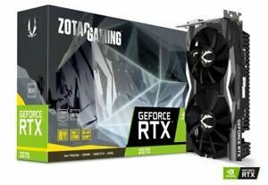 Zotac GeForce RTX 2070 Mini 8GB Graphics Card - £321.54 @ Ebuyer eBay