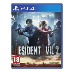 Resident Evil 2 PS4 £14.95 at The Game Collection