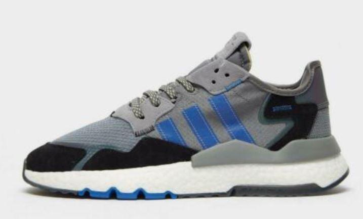 adidas Originals Men's Nite Jogger Trainers grey £30.79 black £34.29 with code @ eBay / JD sport outlet
