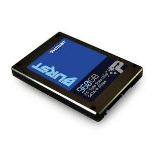 Patriot BURST 960GB SSD £71.88 from Ebay/Ebuyer