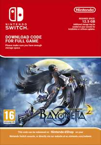 Bayonetta 2 Switch Download £32.85 at ShopTo
