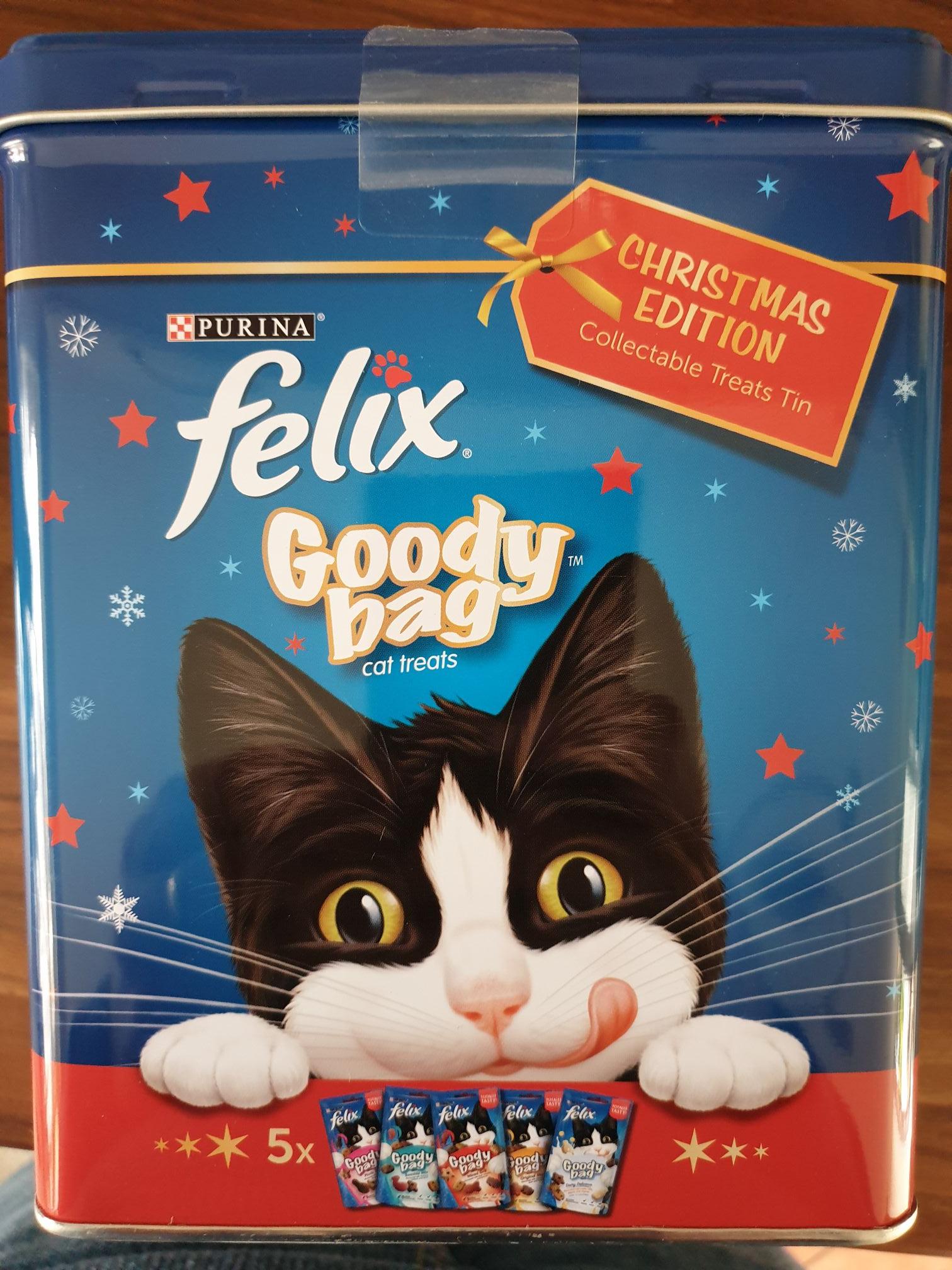 Felix goody bag Xmas tin 300g 69p @ Tesco (Swansea)