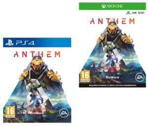 Anthem (PS4 / Xbox One) + 6 month Spotify Premium - £3.97 @ Currys PC World