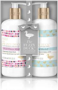 Baylis & Harding Fuzzy Duck Cotswold Floral Luxury Hand Care Set £3 at Amazon Prime / £7.49 Non Prime
