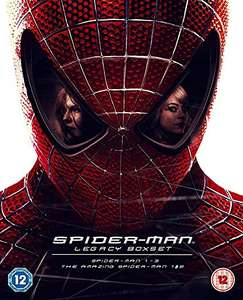 Spider-Man Legacy Collection [Limited Edition Numbered] [Blu-ray] [2017] + Digital Copy £19.99 @ Amazon Prime / £22.98 Non Prime
