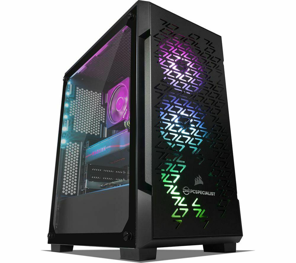 PC SPECIALIST Tornado R9 NV AMD Ryzen 9 RX 5700 XT Gaming PC - 512GB M.2 - 2 TB HDD - Black £1,105 at currys_clearance eBay