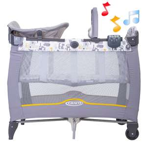 Graco Contour Electra Bassinet Travel Cot - ABC £76.95 delivered @ Online4Baby