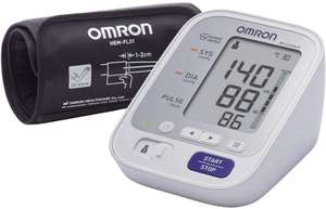 Omron M3 Comfort Upper Arm Blood Pressure Monitor - White (Free Prime Delivery) - £29.99 @ Amazon