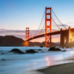 Direct United return flight to San Francisco £231.50 (Departing LHR / Jan - Mar & May departures) @ Skyscanner / Travel Up