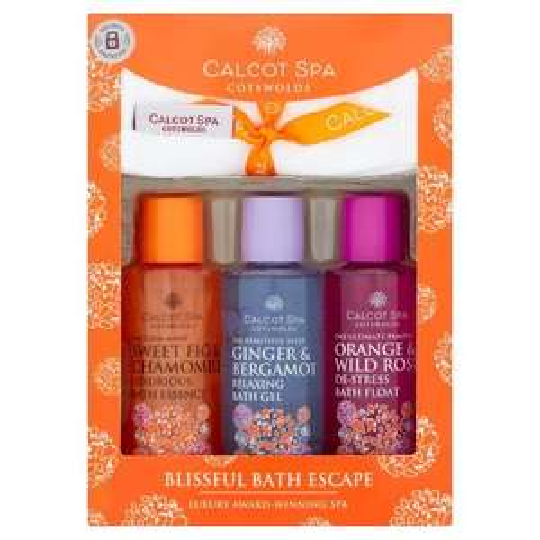 Calcot Spa Cotswolds blissful Spa escape gift set bubble bath and salts £2 @ Tesco