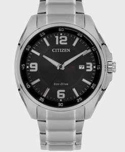 Mens Citizen Eco-drive Gents Eco-Drive Bracelet WR100 Stainless Steel Watch AW1511-51E £79.20 at Watch Shop