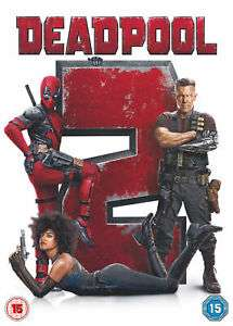 Deadpool 2 (DVD) £2.99 @ The Entertainment Store ebay