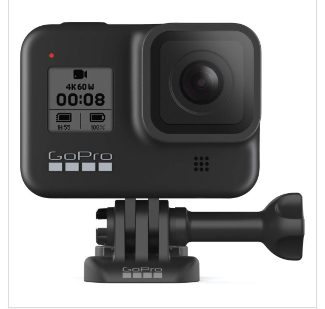 GoPro HERO 8 Black Action Camera £295.20 at cameracentreuk eBay