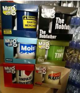 """Banter"" Mugs (See OP) & A Few Older Designs, 25p In Store @ Poundland (Argyle Street And Trongate, Glasgow Stores)"