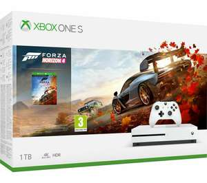 Xbox One S 1TB Forza 4 Pack - New with Damaged Box + Missing Codes £142.36 from Currys Clearance eBay using code