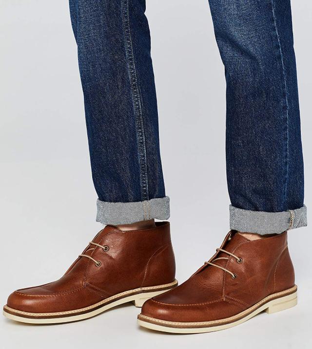 Amazon Brand - find. Men's Leather Chukka Boots from £17.70 @ Amazon
