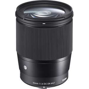 Sigma 16mm f1.4 DC DN Contemporary Prime Lens - Sony E Mount £319.99 @ cameracentreuk Ebay