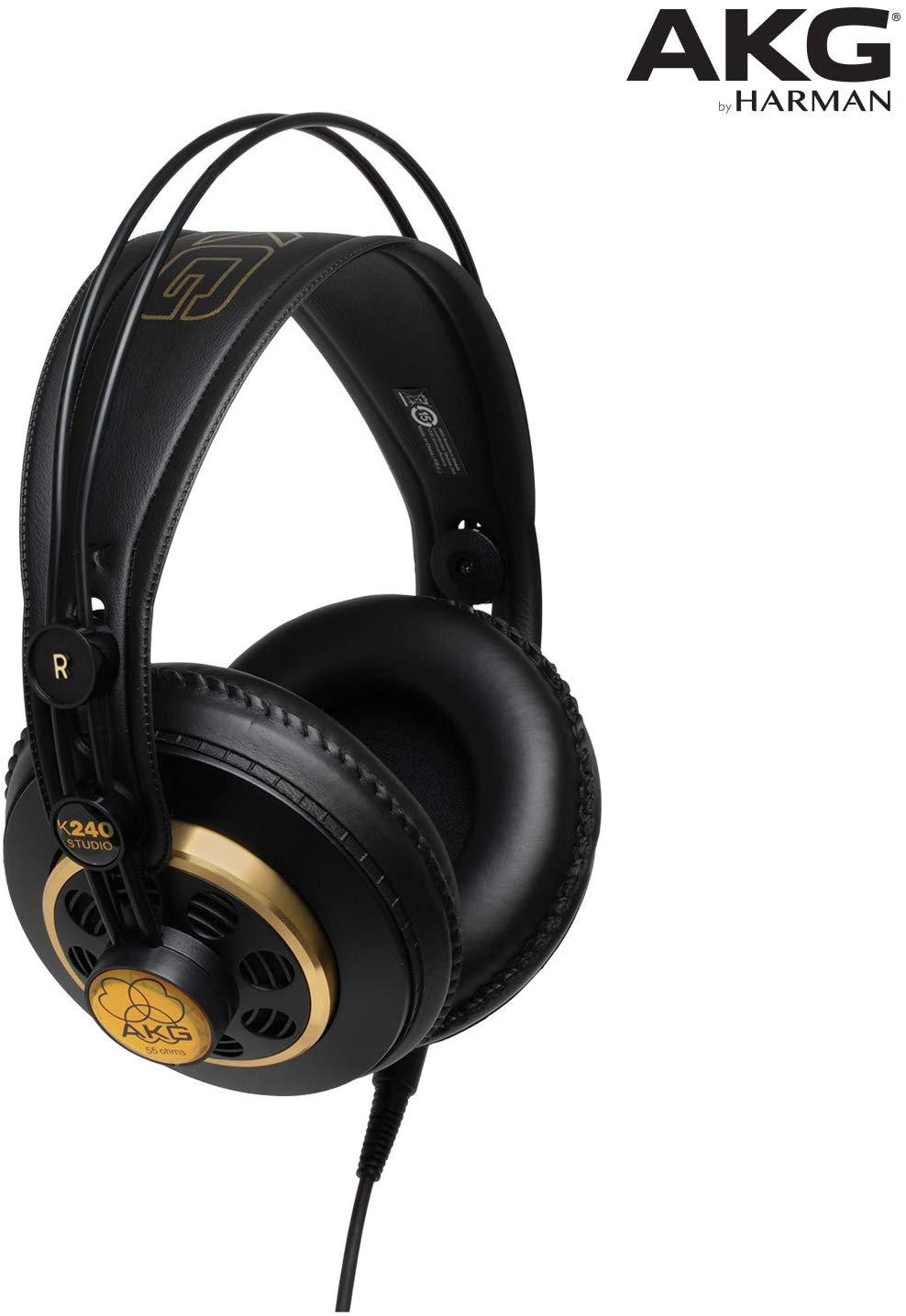 AKG K240 STUDIO Professional Semi-Open, Over-Ear Headphones £35.99 & FREE Delivery @ Amazon UK