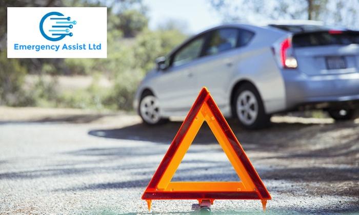 Car under 10 years old: premium one-year UK breakdown cover - Emergency Assist £19.20 @ Groupon