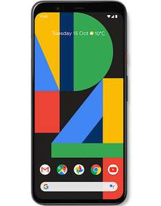 Google Pixel 4 XL 128GB on O2 120GB data with unlimited text and minutes £1244 @ Carphone Warehouse
