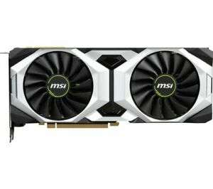 MSI GeForce RTX 2080 SUPER VENTUS OVERCLOCKED Graphics Card (Opened Never Used) £579.25 with code @ Currys Ebay