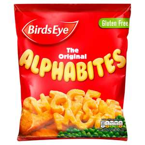 Birds Eye The Original Alphabites 456g £1 @ Iceland