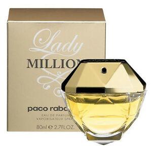 Paco Rabanne Lady Million Eau de Parfum EDP 80ml £42.36 Delivered @ ebay/perfume_shop_direct