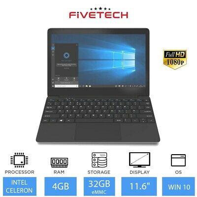 "Refurbished FIVETECH 11.6"" Dual Core N4000,4GB RAM, 32GB Laptop £60 ebay / laptopoutletdirect"