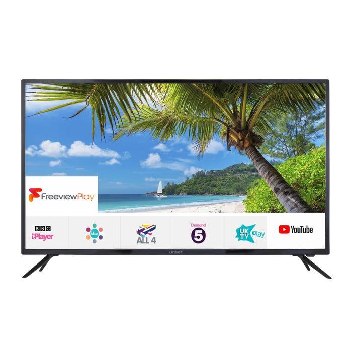 Linsar 55UHD8000FP 55 inch 4K Ultra HD Smart LED TV Freeview Play Free 5 year Guarantee