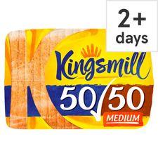 Kingsmill 50/50 Medium Bread 800G - 85p Tesco
