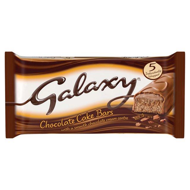 Galaxy Chocolate or Caramel Cake Bars 5 Pack £0.40 / Yorkshire Baking Co Tea or Ginger Loaf Cake £0.50 + More @ Morrisons