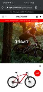 Specialized end of season sale - Up to 50% off tyres, accessories and apparel