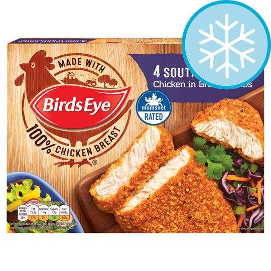 Birds Eye 4 Southern Fried Chicken 360G Half Price £1.50 @ Tesco