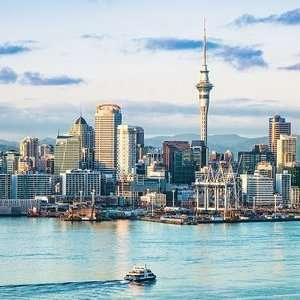 Return flight to Auckland (New Zealand) £426 (Departing LHR / Mar departures / Including 2 x 23kg luggage) @ Skyscanner / Budget Air