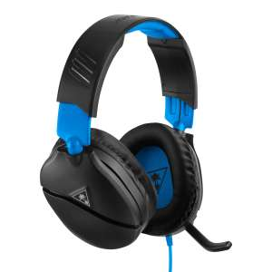 Turtle Beach Recon 70 Gaming Headset for PS4 Pro & PS4 - Black/Blue now £19.99 (Prime) + £4.49 (non Prime) at Amazon