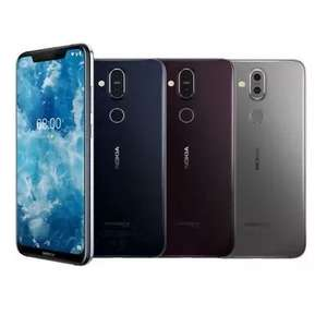 Nokia 8.1 Steel & BLUE colours Available - Grade B Condition Smartphone £136.79 @ Stock Must Go Ebay