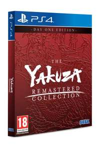 Yakuza Remastered Collection (PS4) - Day One Edition £36.95 Delivered (Preorder) @ The Game Collection