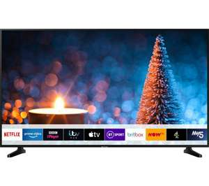 SAMSUNGUE65RU7020KXXU with apple TV installed. Free delivery £549 or £530 in store @ Currys