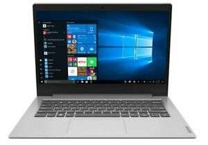 """Lenovo IdeaPad Slim AMD A4 4GB 64GB 14"""" Win10 Home + 1 year Office 365 Personal Laptop - Grey for £157.40 delivered @ Ebuyer Express eBay"""