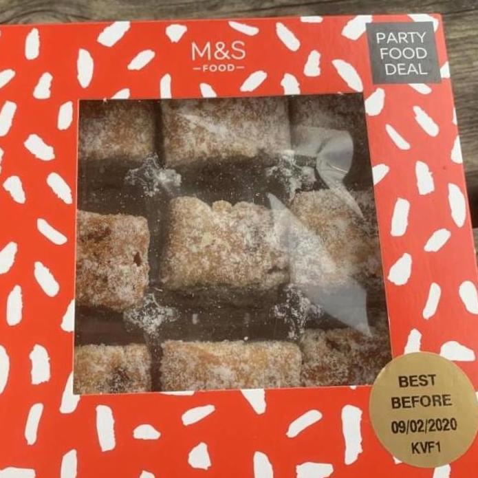 Marks & Spencer Party Food bites - 87p @ Marks and Spencer dessert (Sheffield)