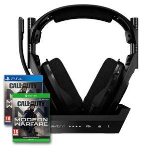 Astro A50 4th Generation With Base Station + Free Call of Duty Modern Warfare - PS4/PC or Xbox One/PC - £229.99 Delivered @ Box