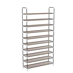 Sable 10 tier shoe rack with waterproof non-weaved fabric for £17.99 delivered @ Sunvalleytek-UK fulfilled by Amazon