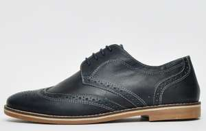 Red Tape Checkley Leather MensDark Navy Blue for £16.38 at Expresstrainers
