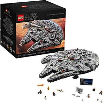 LEGO Star Wars 75192 Ultimate Millennium Falcon, John Lewis & Partners, Westfield Stratford, London - £500