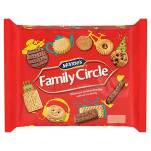 McVities Family Circle Biscuits 360g - 75p at Jack's (Sheffield)