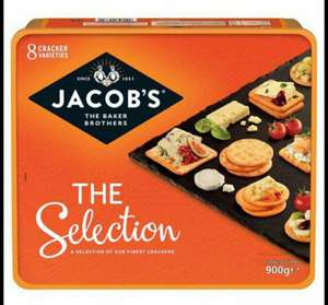 Jacobs crackers variety box 900g £1.80 in sainsburys instore York