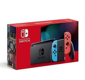 Nintendo Switch with pair of Neon Red and Neon Blue Joy-Con Amazon France £266.51