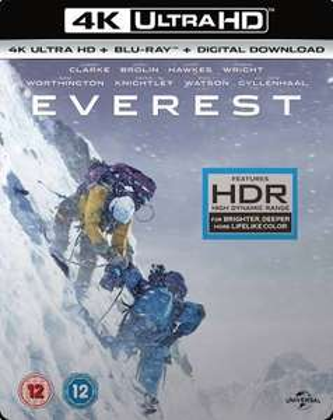 Everest - 4K Ultra HD Blu Ray New/ sealed £4.99 @ cardboardstory4 (ebay)