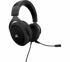 CORSAIR HS50 Gaming Headset - Black £29.58 currys_clearance eBay