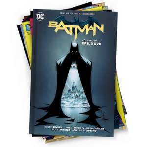 "10 mystery DC graphic novels bundle Plus ""free mystery gift"" £21.98 delivered @ Zavvi"